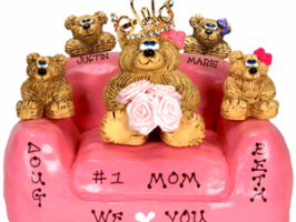 Personalized teddy bear personalized mother's present to be free