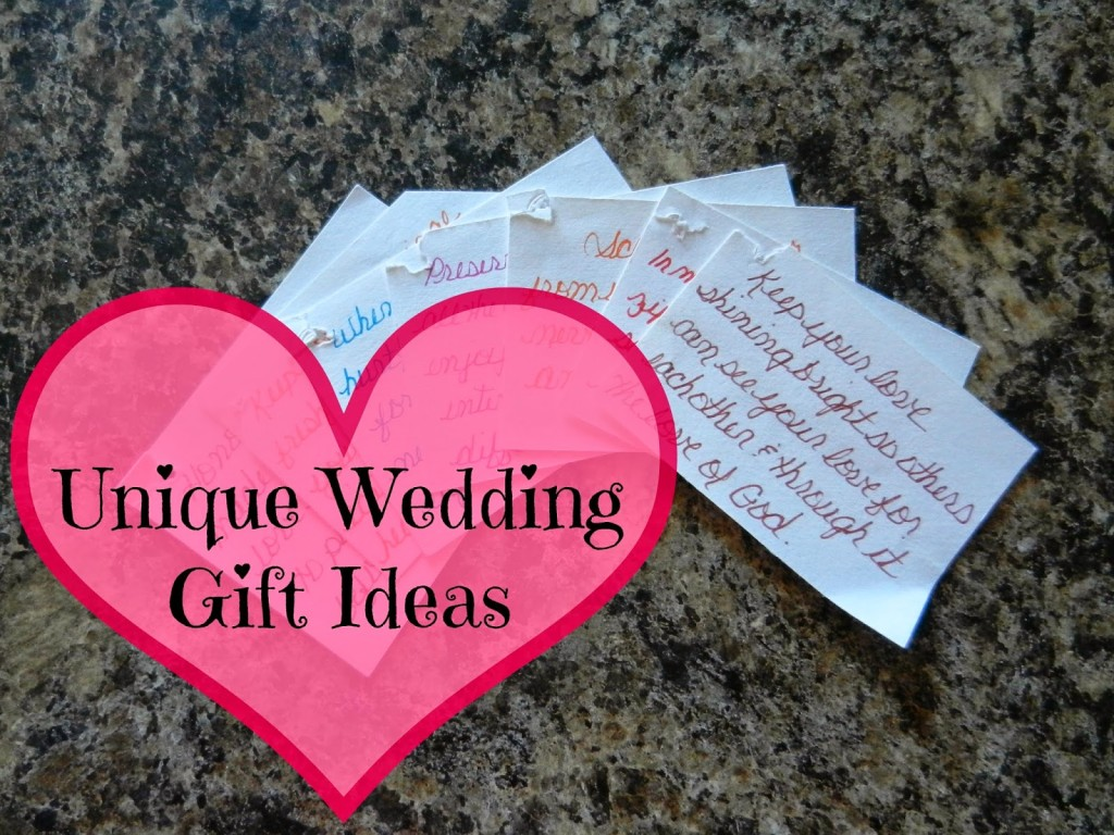 Unique idea for wedding gift gift ideas holiday gifts for Unique wedding registry sites