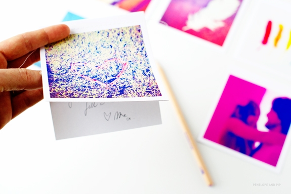 A DIY gift with encouragement and love