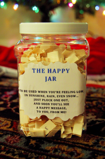 A DIY gift can make your friend happy